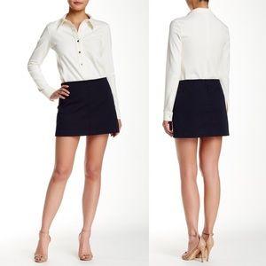 Theory NEW Keeta Monza Mini Skirt in Uniform Sz 2
